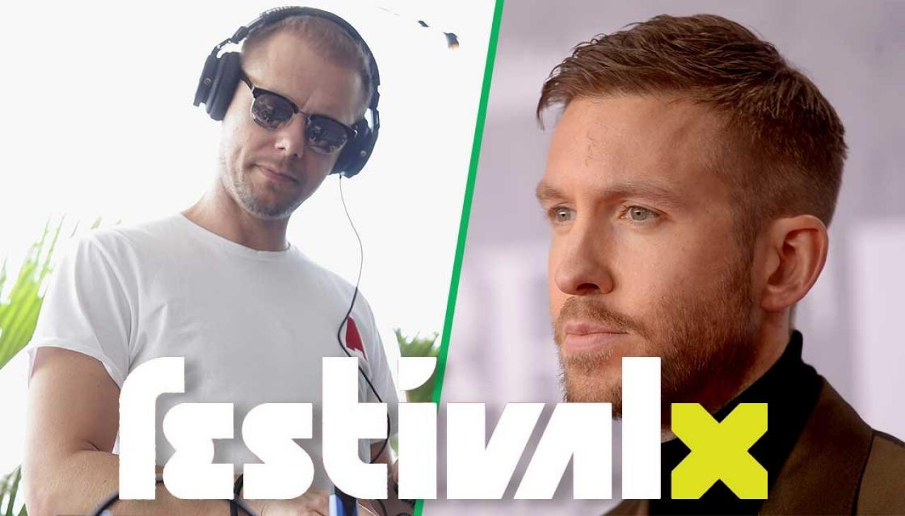 Calvin Harris, Armin Van Buuren, Alison Wonderland and